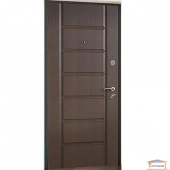 Изображение Дверь метал. Стандарт F+ Канзас тик эко 860 левая купить в procom.ua