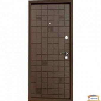 Изображение Дверь метал. Премиум 100  Каскад венге/дуб крем 960 левая