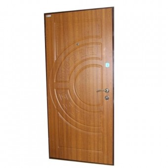 Изображение Дверь метал. Премиум 100 Адамант 960 Дуб золотой левая купить в procom.ua