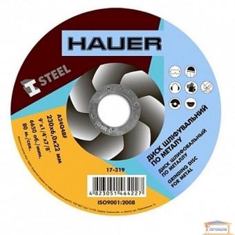 Изображение Диск шлифовальный по металлу Hauer 230x6,0х22 17-319
