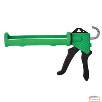 Изображение Пистолет для герметика полуоткрытый пластик 12-018 купить в procom.ua