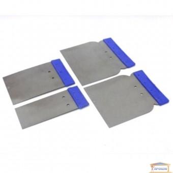 Изображение Набор шпателей стальных 4 шт. 50/80/100/120мм 05-960