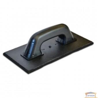 Изображение Терка пластмассовая с черной губкой 130*270мм 07-203