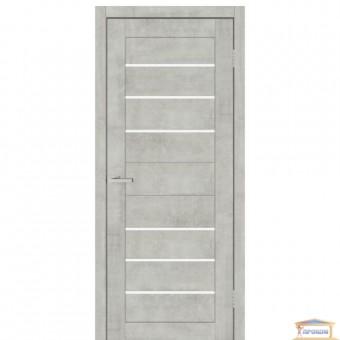 Изображение Дверь ПВХ Смарт С 034 G 800 сатин/бетон светлый купить в procom.ua