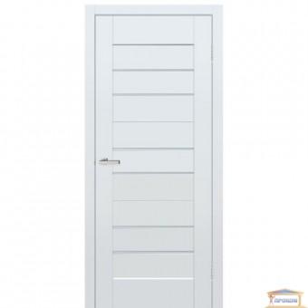Изображение Дверь МДФ Вit 06 G сатин 800 дуб эко белый гладкий купить в procom.ua