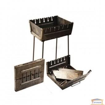 Изображение Мангал-чемодан 37*34*50см на 6 шампуров 73-556 купить в procom.ua