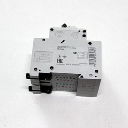 Изображение Автоматический выключатель 3р/10A EATON  (Домовой) купить в procom.ua - изображение 2