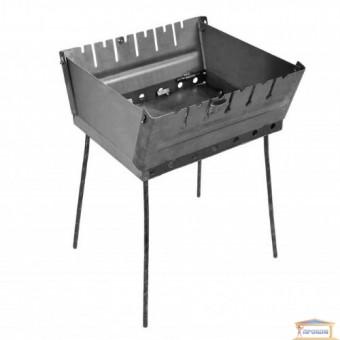 Изображение Мангал-чемодан на 6 шампуров металл 2мм купить в procom.ua
