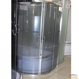 Изображение Душ кабина Delfi 606G 90*90 стекла серые поддон lines 45см