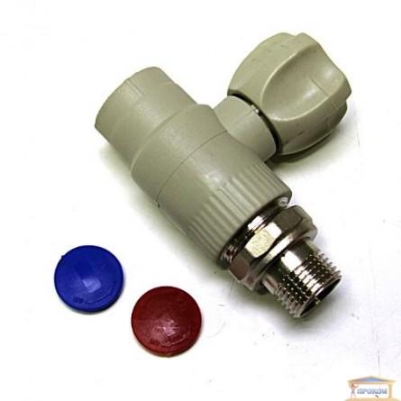 Изображение Кран радиаторный прямой 1,2*1,2 KOER KR.907 купить в procom.ua - изображение 1