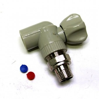 Изображение Кран радиаторный угловой 1,2*1,2 KOER KR.905