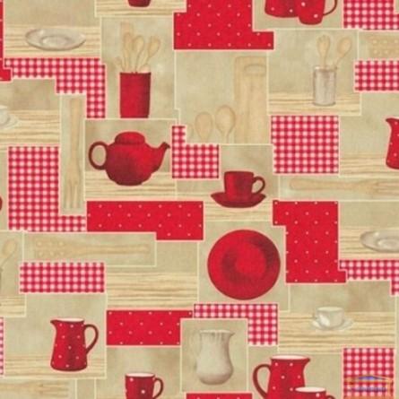 Изображение Обои флизелин. Китчен декор ЭШТ 6-1360 (бежево-красн)(1*10м) купить в procom.ua - изображение 1