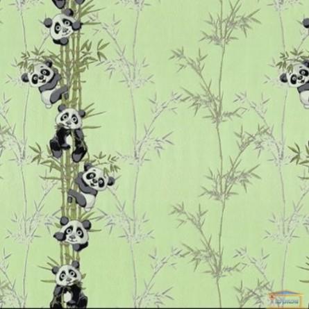 Изображение Обои флизелин. ДХН-1427/2 (1,06*10м ) панды декор салатовый купить в procom.ua - изображение 1