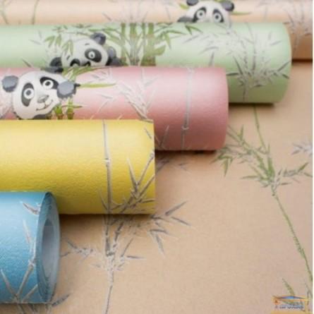 Изображение Обои флизелин. ДХН-1427/2 (1,06*10м ) панды декор салатовый купить в procom.ua - изображение 5