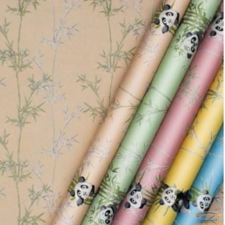 Изображение Обои флизелин. ДХН-1427/2 (1,06*10м ) панды декор салатовый купить в procom.ua - изображение 4