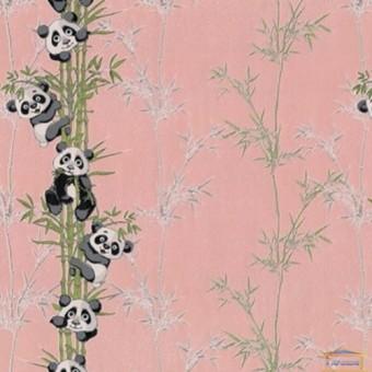 Изображение Обои флизелин. ДХН-1427/3 (1,06*10м ) панды декор розовый купить в procom.ua