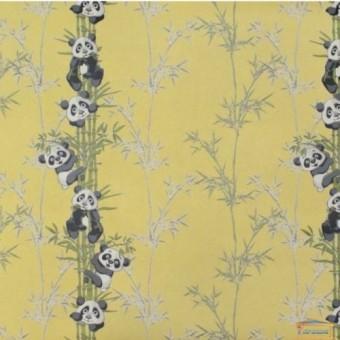 Изображение Обои флизелин. ДХН-1427/4 (1,06*10м ) панды декор желтый купить в procom.ua