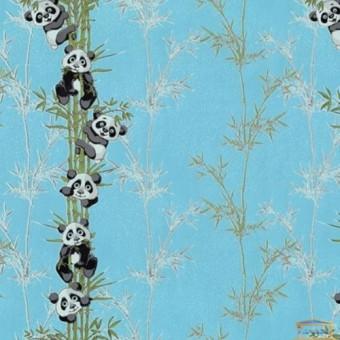Изображение Обои флизелин. ДХН-1427/5 (1,06*10м ) панды декор голубой купить в procom.ua