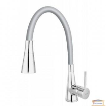 Изображение Смеситель для кухни Ferro ZUMBA серый  BZA42S 38640 купить в procom.ua