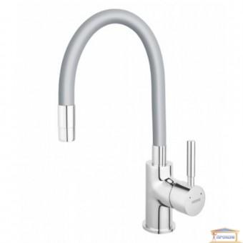 Изображение Смеситель для кухни Ferro ZUMBA серебро BZA4S 35676 купить в procom.ua