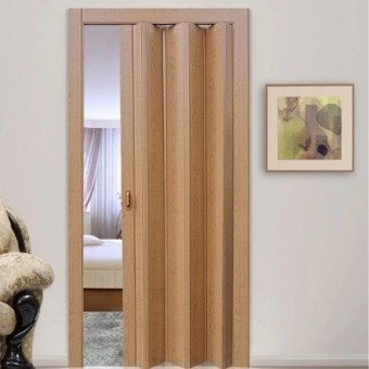 Изображение Дверь Гармошка 2030*840 клен АКЦИЯ! купить в procom.ua