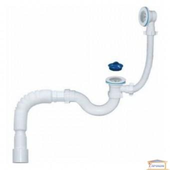 Изображение Сифон для ванны с переливом Waterstal 40089 купить в procom.ua