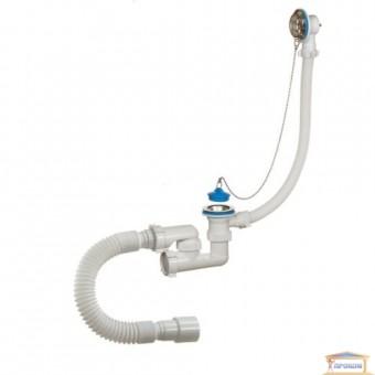 Изображение Сифон для ванны с переливом Waterstal 80089 купить в procom.ua