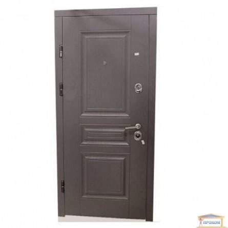 Изображение Дверь метал. ПК 198 серая текстурная/белая текстур. 860 лева купить в procom.ua - изображение 1