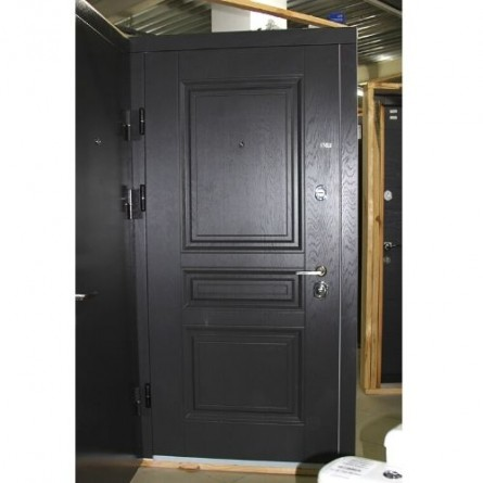 Изображение Дверь метал. ПК 198 серая текстурная/белая текстур. 860 лева купить в procom.ua - изображение 2