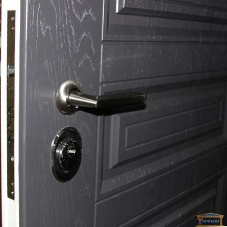 Изображение Дверь метал. ПК 198 серая текстурная/белая текстур. 860 лева купить в procom.ua - изображение 4