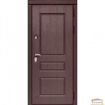 Изображение Дверь метал. ПО 59 V дуб темный/ночник 860 правая купить в procom.ua