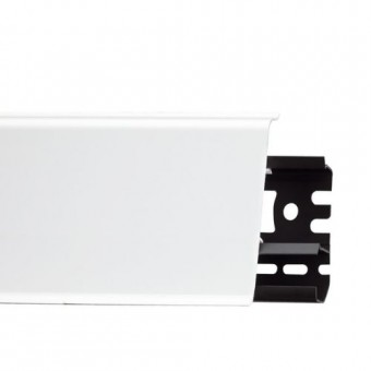 Изображение Плинтус Арбитон indo 2,5м 01 Белый глянец купить в procom.ua