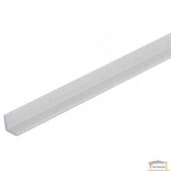 Изображение Уголок защитный алюминиевый 15*15 серебро 2,7 м купить в procom.ua