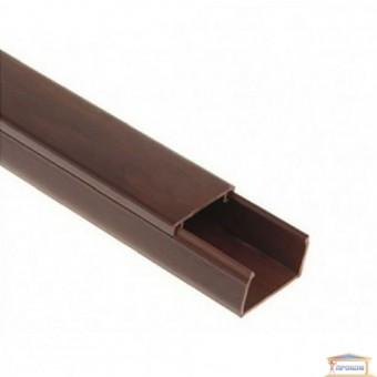 Изображение Короб 20*10 мм длина 2000мм темн.коричневый купить в procom.ua
