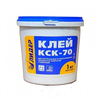 Изображение Клей для пенополистерола Лидер КСК-70 1кг купить в procom.ua