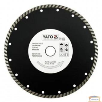 Изображение Диск алмазный Yato 230 * 8,0 * 22,2 YT-6025 купить в procom.ua