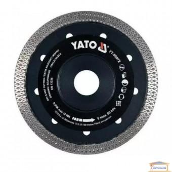 Изображение Диск алмазный Yato 125*1,6*10*22,2  YT-59972 купить в procom.ua