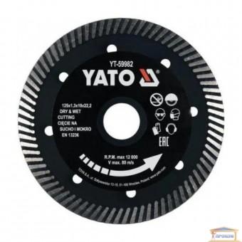 Изображение Диск алмазный Yato 125*1,3*10*22,2  YT-59982 купить в procom.ua