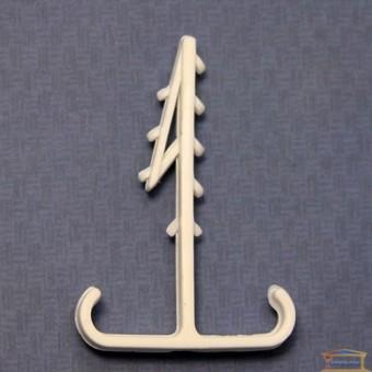 Изображение Дюбель елочка для кабеля плос. двойной 12мм