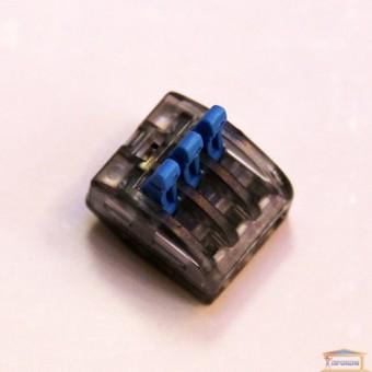 Изображение Колодка 3-я клеммная с нажимным механизмом Right Hausen HN-185220 купить в procom.ua