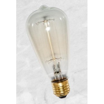 Изображение Лампа Эдисона ST64 накаливания 40W