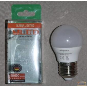 Изображение Лампа Лед OSH G45 4W E27 160ш 4000K купить в procom.ua