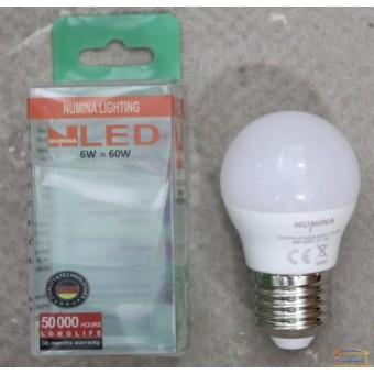 Изображение Лампа Лед OSH G45 6W E27 160ш 6000K купить в procom.ua