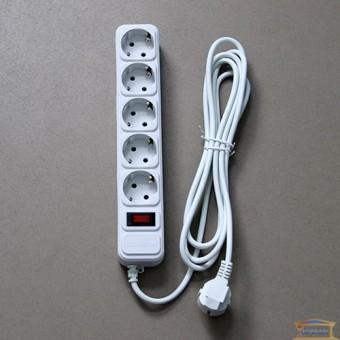 Изображение Фильтр компьют. серый 1,8м 5 розеток Maxxtro купить в procom.ua
