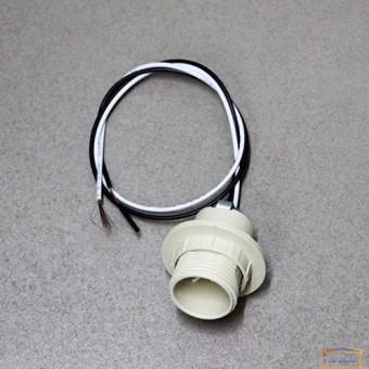 Изображение Патрон пластик RH E14 пластик люстровый с пров. HN-031091
