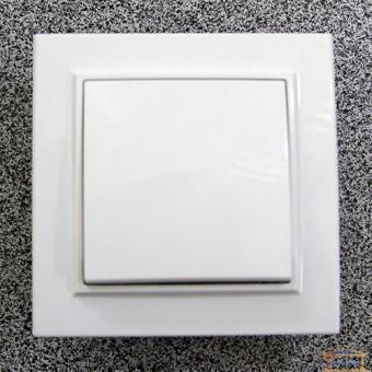 Изображение Выключатель 1-кл. внутр. белый Right Hausen KIRA (HN-016011)