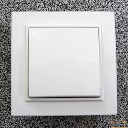 Изображение Выключатель 1-кл. внутр. белый Right Hausen KIRA (HN-016011) купить в procom.ua - изображение 1