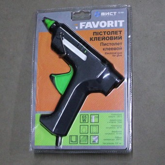 Изображение Пистолет электрический для клея 11мм 65 Вт (12-101) купить в procom.ua