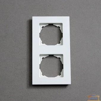 Изображение Рамка 2-я горизонт. белая R H VELENA (HN-011141) купить в procom.ua