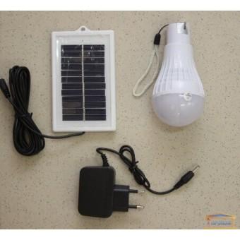 Изображение Лампа с зарядкой от солнечной батареи и сети HN 041050N